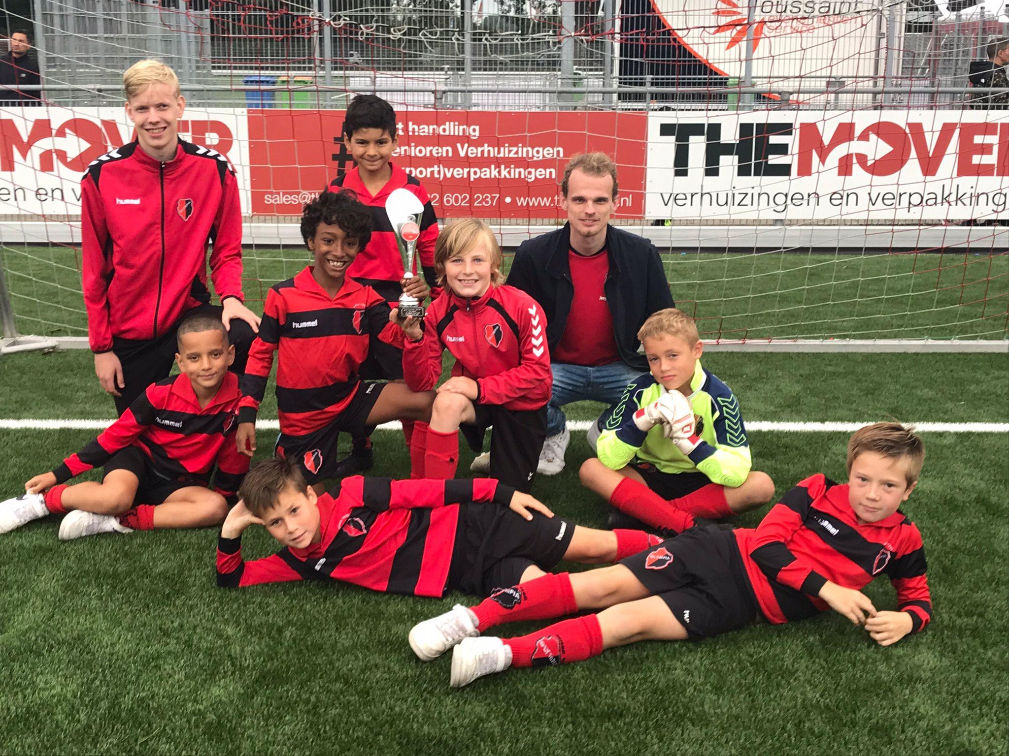 JO10-1 pakt 3e plaats op Alphense Boys toernooi