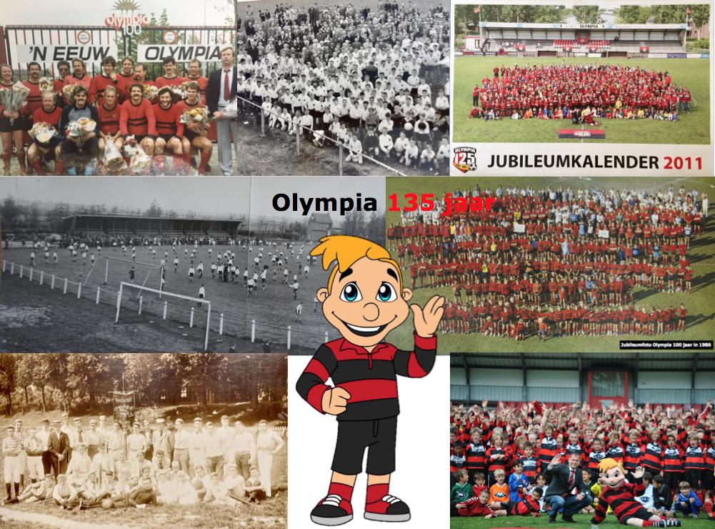 Olympianen gefeliciteerd met onze 135ste verjaardag vandaag!
