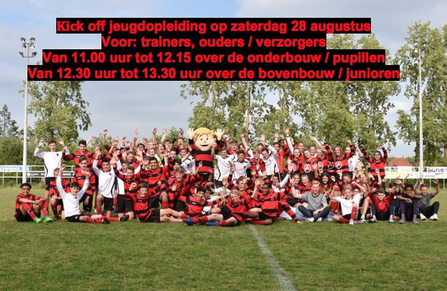 Uitnodiging Kick-off jeugdopleiding