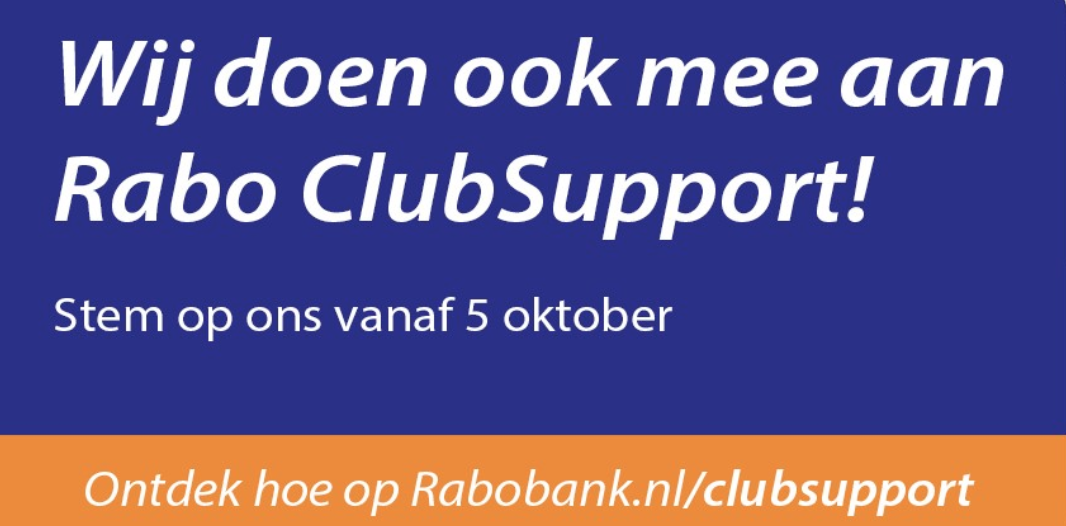 Olympia doet mee aan de Rabo Club Support 2021!